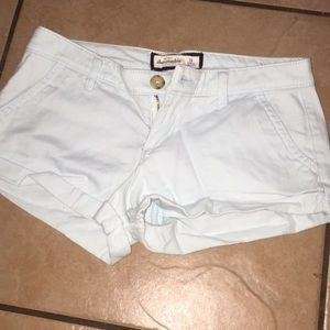 2 pairs of Abercrombie kids shorts size 14